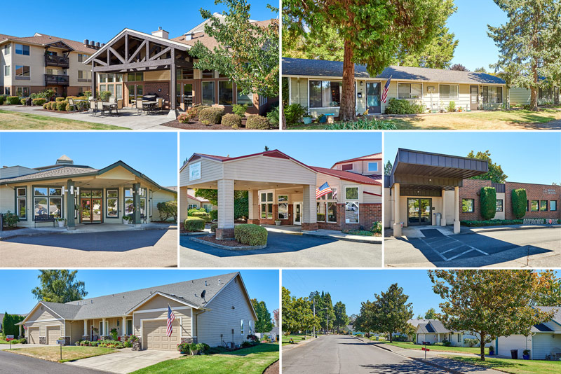 retirement community complete with Independent Living, Assisted Living, Memory Care and Rehabilitation